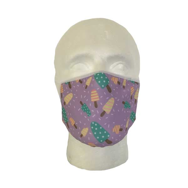 Ice Lolly Cloth Face Mask