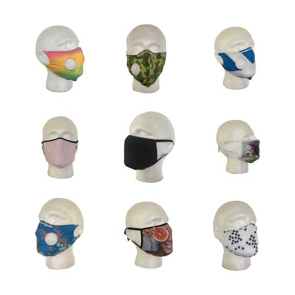 Plain & Patterned Cloth Face Masks