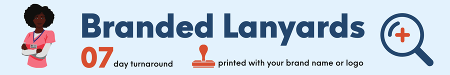 Custom Printed Lanyards Banner
