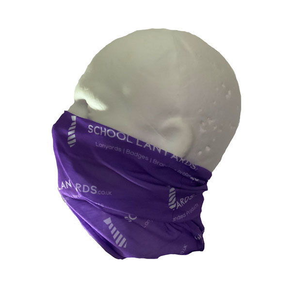 Antimicrobial Neck Tube Bandana - Side View