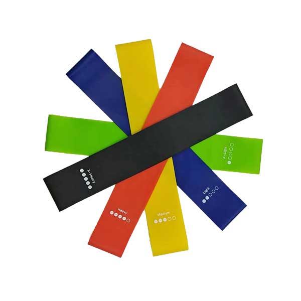 Custom Printed Latex Resistance Bands Kit