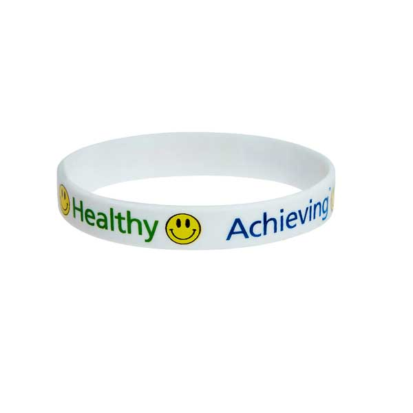 Silicone Wristband - 4 Colour Print