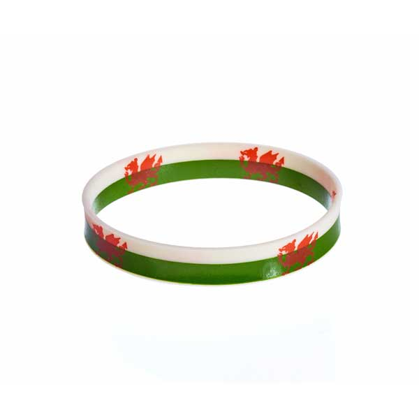 Custom Silicone Wristband - Two Colour Band