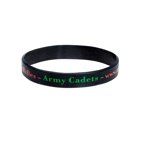 Silicone Wristband - 2 Colour Print