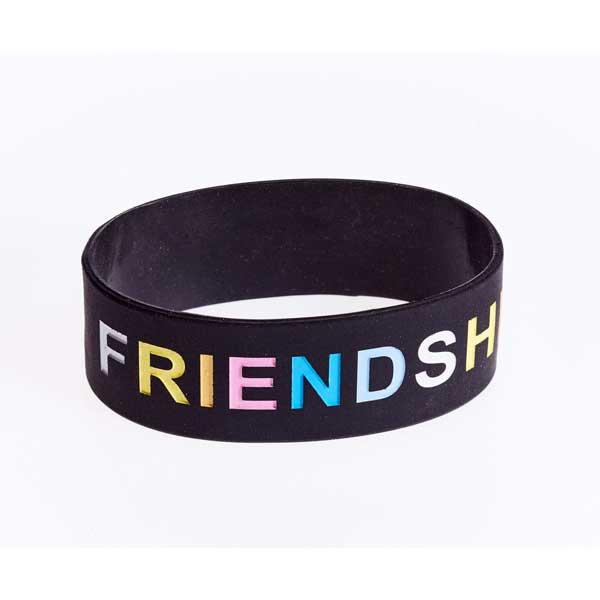 Silicone Wristband - Deboss & Colourfill