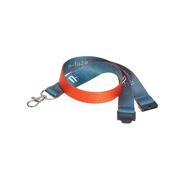 Double Sided Screen Printed Lanyard