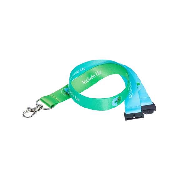 Dye Sub Recycled Lanyard - RPET Lanyard