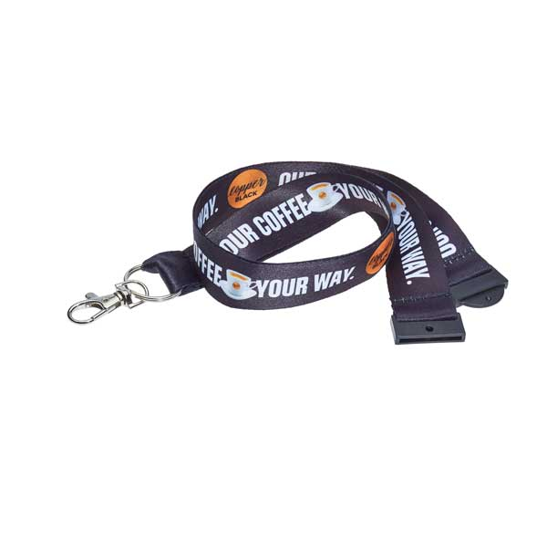 Dye Sublimation Recycled Lanyard - RPET Lanyard