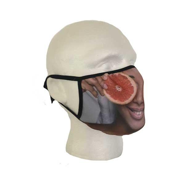 Spa Mask (Eyes Design) - Side View