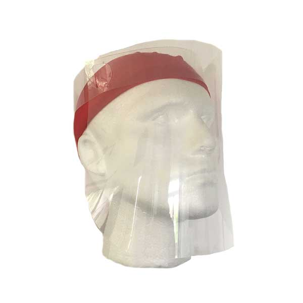 Face Shield Face Visor Worn With A Neck Tube