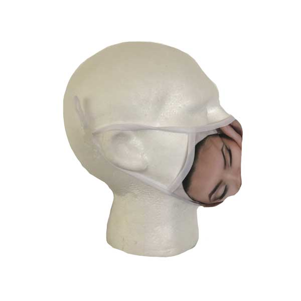 Spa Mask (Face Design) - Side View
