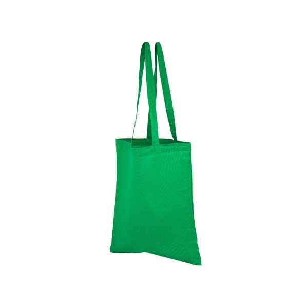 Full Colour Printed Coloured Cotton Shopper Bag