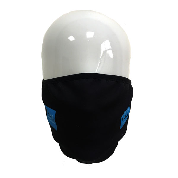 Full Colour Printed Face Mask - Front View