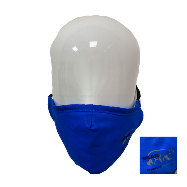 Full Colour Printed Poly Cotton Mask