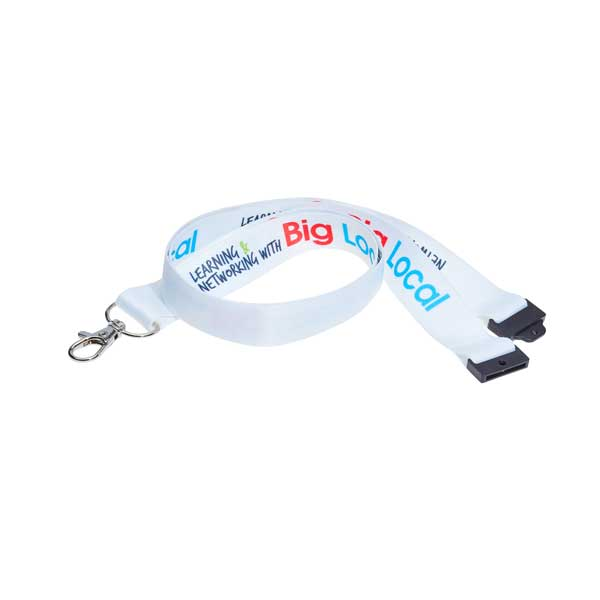 Full Colour Recycled Lanyard - RPET Lanyard