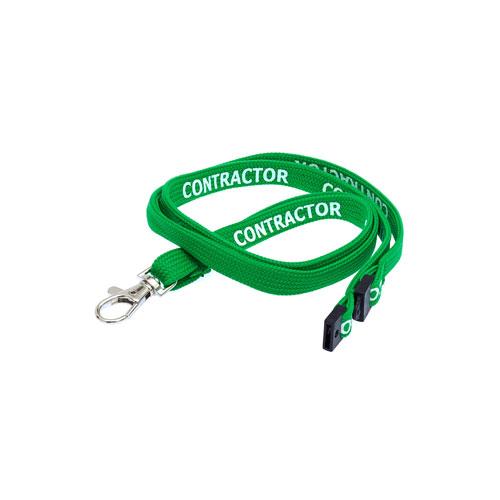 Green Contractor Lanyard
