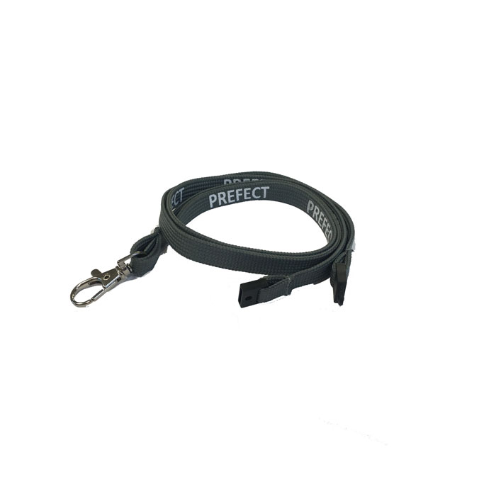 Grey Prefect Lanyard