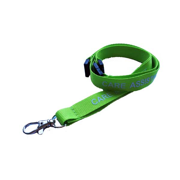 Care Assistant Lanyards
