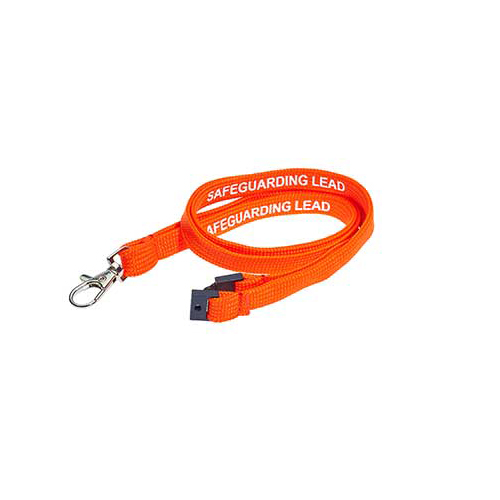 Safeguarding Lead Lanyards