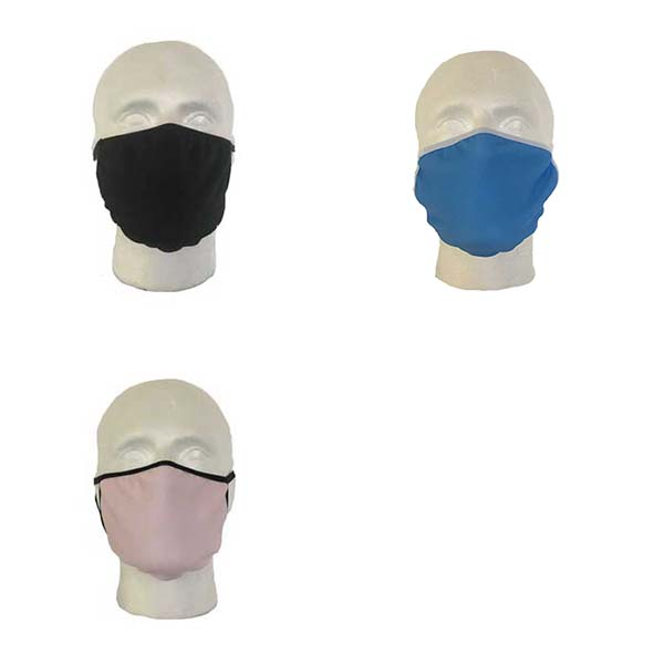 Plain Coloured Cloth Face Mask