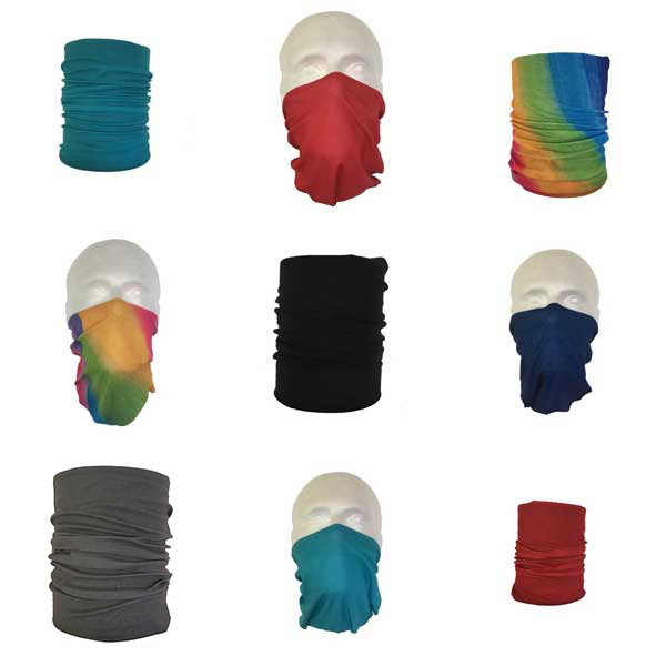 Plain Coloured Neck Tube Bandanas