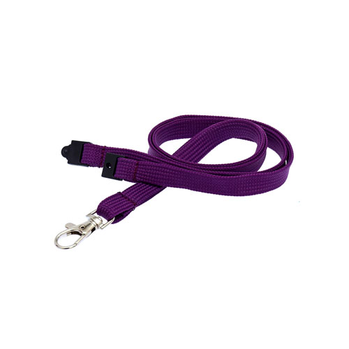 Purple Lanyard