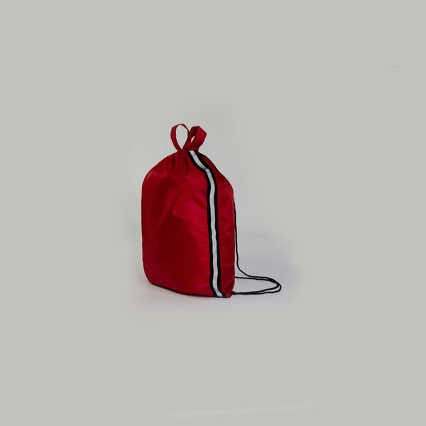 Reflective Custom Drawstring Bag