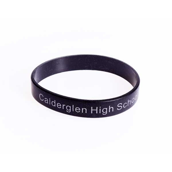 Reflective Silicone Wristband