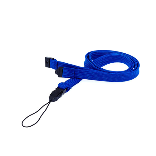 Royal Blue String Clip Lanyard