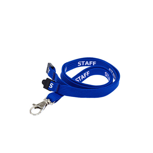 Royal Blue Staff Lanyard