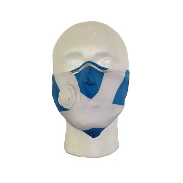 Saltire Cloth Face Mask - Front View