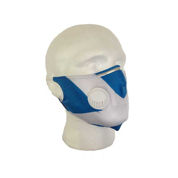 Saltire Cloth Face Mask - Side View