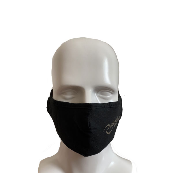 Printed Cotton Mask - Front View
