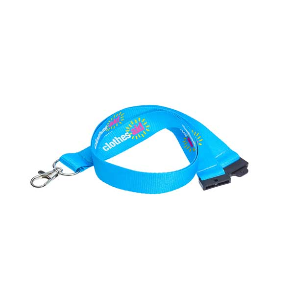Screen Printed Recycled Lanyard