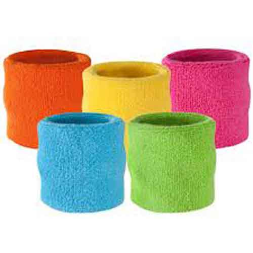 Coloured Sweatbands