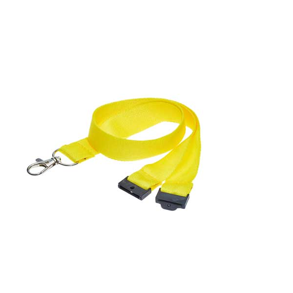 Yellow Bamboo Lanyard