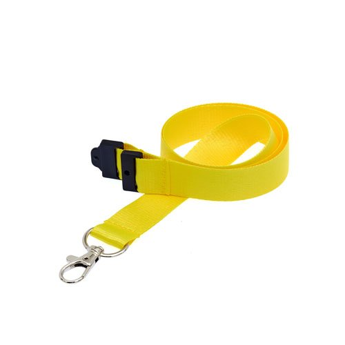 Yellow Lanyard